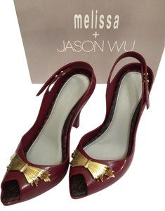 Melissa Burgunday Pumps