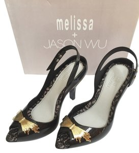 Melissa Black Pumps