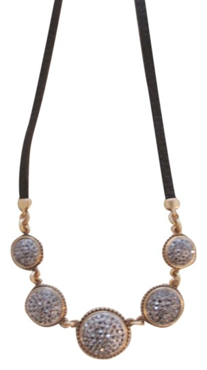 Preload https://item2.tradesy.com/images/lucky-brand-brand-new-lucky-brand-two-tone-pave-leather-necklace-3414286-0-0.jpg?width=440&height=440