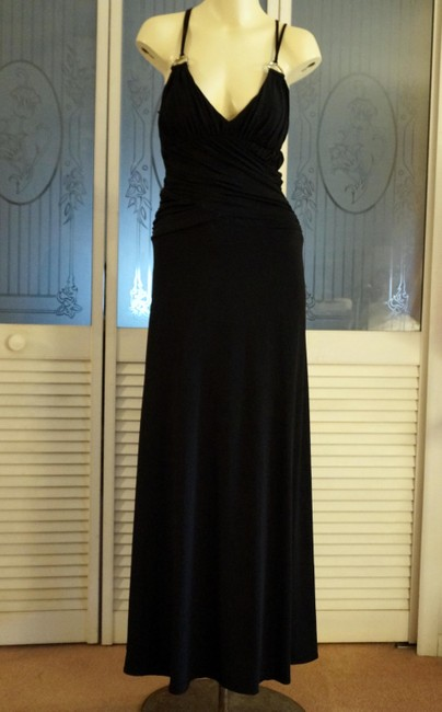 Jodi Kristopher Rhinestone Gown Stretch Gown Prom Gown Holiday Gown Dress
