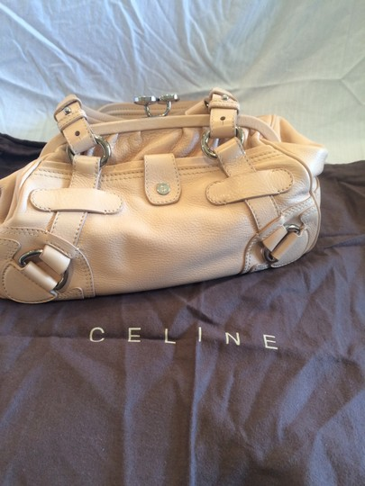 Céline Satchel in Cream