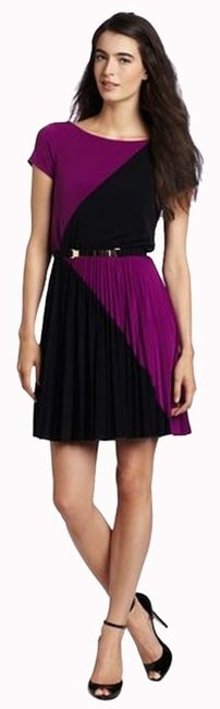 Preload https://item5.tradesy.com/images/max-and-cleo-blackpurple-ericka-above-knee-cocktail-dress-size-8-m-3414424-0-0.jpg?width=400&height=650