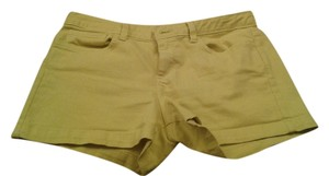 Calvin Klein Cuffed Shorts Charteuse