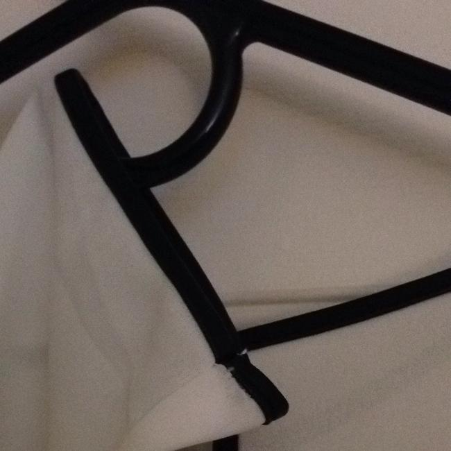 H&M Top White with Black Trim