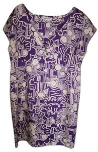 See by Chloé short dress Purple Silk Chloe on Tradesy