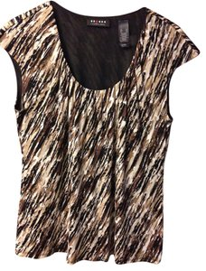 Axcess Top Brown, beige, black