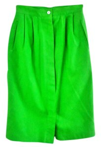 Chaus Linen Bright Skirt grass-green
