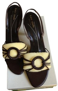 Kate Spade Dark Brown Sandals