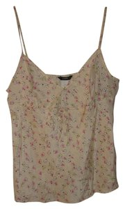 J.Crew Top Cream & Pink & Yellow