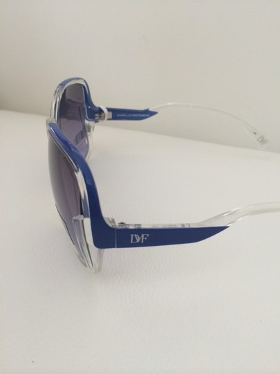 Diane von Furstenberg Big Blue Shades