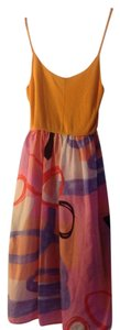 United Colors of Benetton short dress Orange on Tradesy