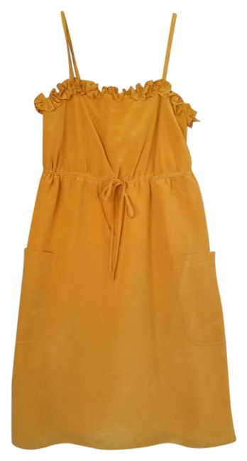 Preload https://img-static.tradesy.com/item/3415708/marc-by-marc-jacobs-gold-fleetwood-mid-length-night-out-dress-size-0-xs-0-0-650-650.jpg