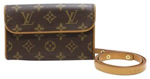 Louis Vuitton Pochette Florentine Pouch Speedy Clutch
