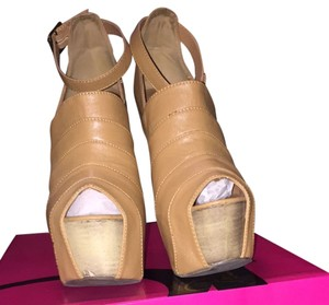 Privileged Taupe Wedges