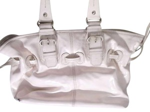 Dooney & Bourke & Patent Leather Handbag Shoulder Bag