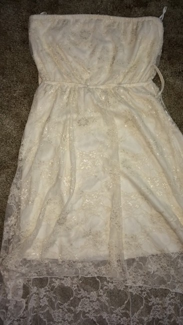 Rue 21 short dress Off White/Cream on Tradesy