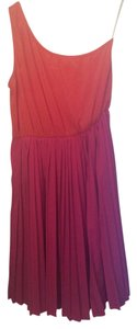 Everly short dress Pink Pleated One on Tradesy