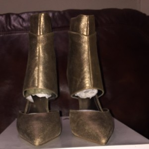ALDO Metallic Gold Boots