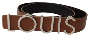 Louis Vuitton Louis Vuitton #1000-3 2012 Fall/Winter Runway Spelled Out Limited Edition LOUIS belt size 95 38