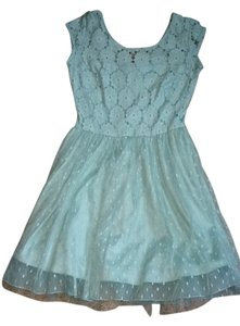 My Michelle short dress Light Blue on Tradesy