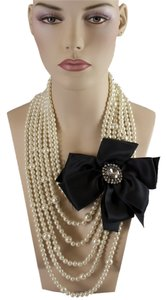 Lee Angel Lee Angel Multi-strand Pearl Necklace
