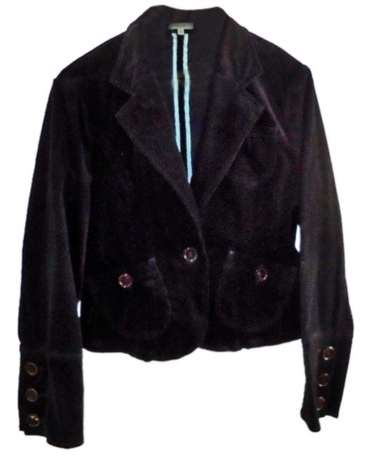 Other Velvet Cotton Machine Washable black Blazer Image 0