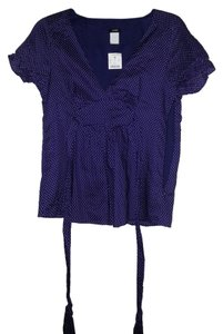J.Crew Empire Waist Top purple