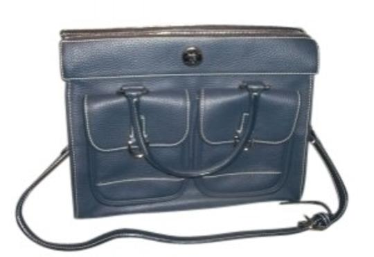 Preload https://img-static.tradesy.com/item/34179/dooney-and-bourke-blue-pebble-leather-tote-0-0-540-540.jpg
