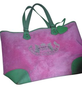 Juicy Couture Tote in pink/green