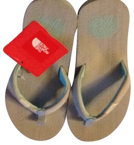 The North Face Grey Green Sandals