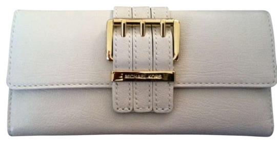 Michael Kors off white/gold Clutch