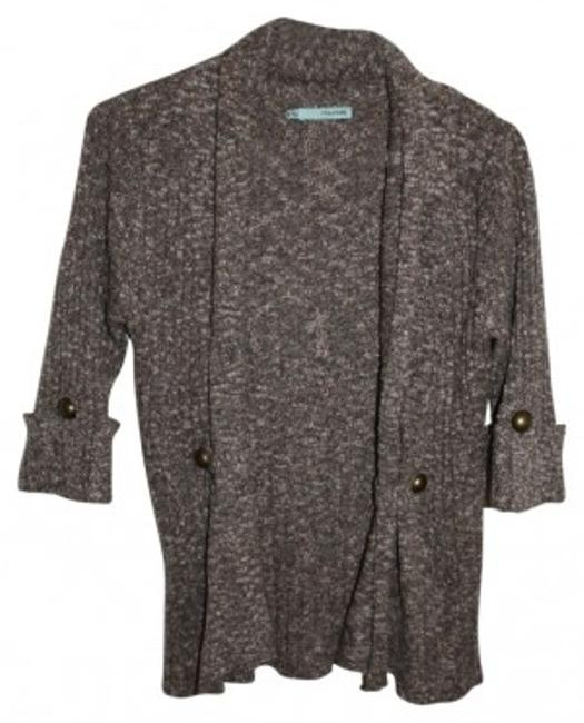 Preload https://img-static.tradesy.com/item/34188/maurices-brown-mix-soft-34-sleeve-cardigan-size-8-m-0-0-650-650.jpg