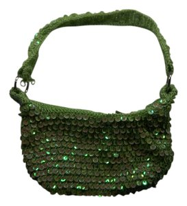 Other Sequin Crochet Hobo Bag