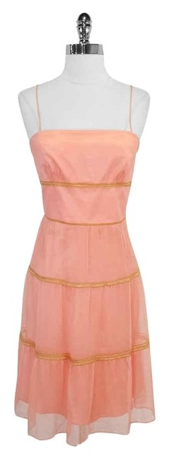 Preload https://img-static.tradesy.com/item/3419140/laundry-by-shelli-segal-peach-and-gold-embroidered-silk-mini-short-casual-dress-size-6-s-0-0-650-650.jpg