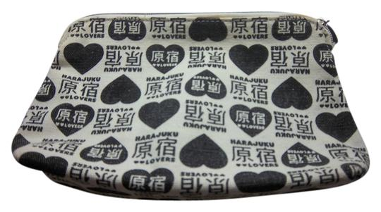 Harajuku Lovers Harajuku Lovers Triangular Zippered Makeup Bag