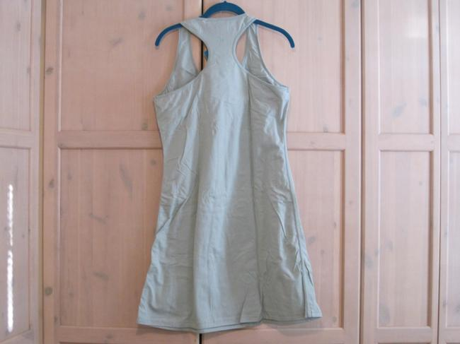 Patagonia short dress Light Blue Racer-back Built In Bra on Tradesy
