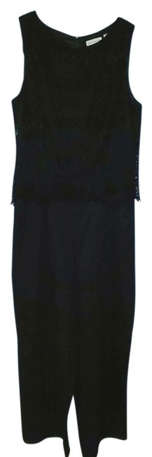 Preload https://img-static.tradesy.com/item/3419617/ann-taylor-black-embroidered-long-romperjumpsuit-size-14-l-0-0-650-650.jpg