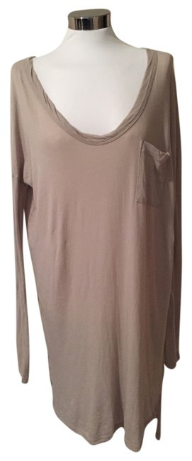 Preload https://img-static.tradesy.com/item/3419710/james-perse-beige-narrow-sleeve-knit-stretch-cotton-jersey-mid-length-short-casual-dress-size-12-l-0-0-650-650.jpg