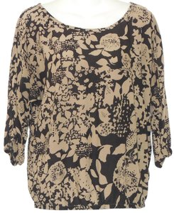 Velvet by Graham & Spencer Floral Top Multi Color