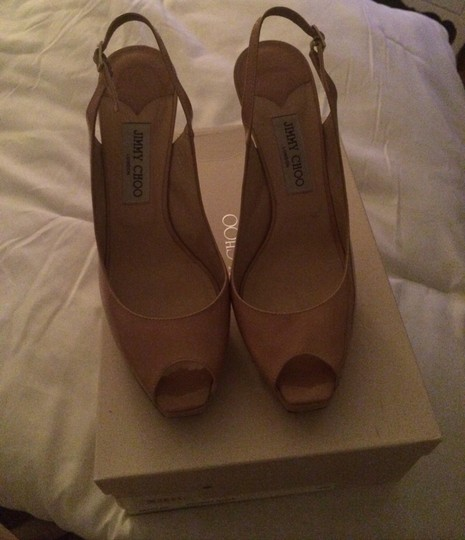 Jimmy Choo Tan Pumps