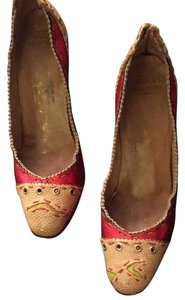 Other red / beige Pumps