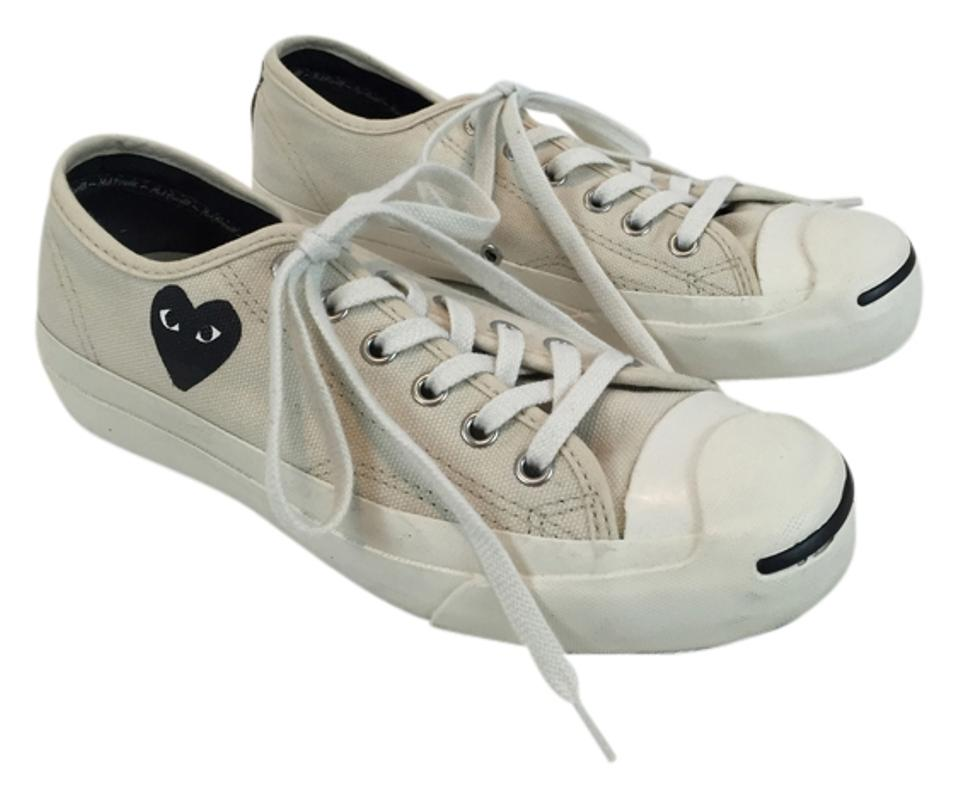 COMME des GAR?ONS White Play Converse Sneakers Sneakers Sneakers Sneakers 29134a