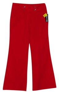 Tracy Evans Flare Pants Red