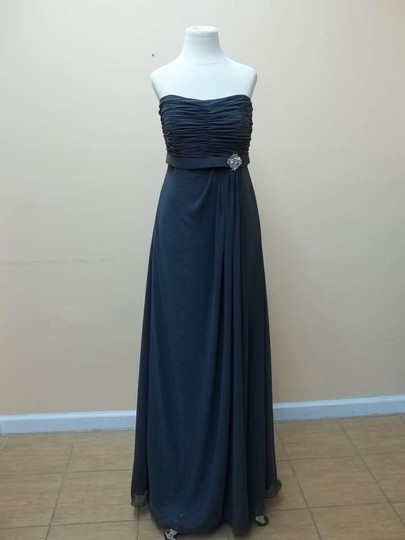 Mori Lee Charcoal 686 Dress