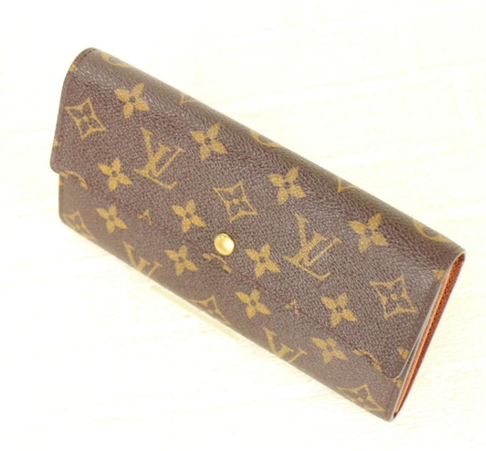 af8fdd0bfb1a Louis Vuitton ( trusted Tradesy Seller ) Sarah Long Monogram  includes Box   Wallet - Tradesy
