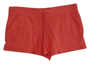 J.Crew Cotton Spandex Elastic Mini/Short Shorts Coral