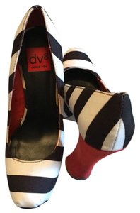 DV by Dolce Vita Blue White Orange Platforms