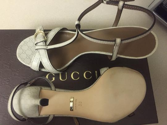 Gucci Off White Sandals