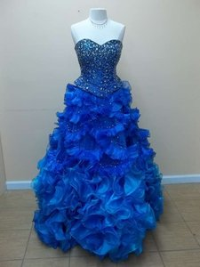 Impression Bridal Turquoise/Royal 41023 Dress