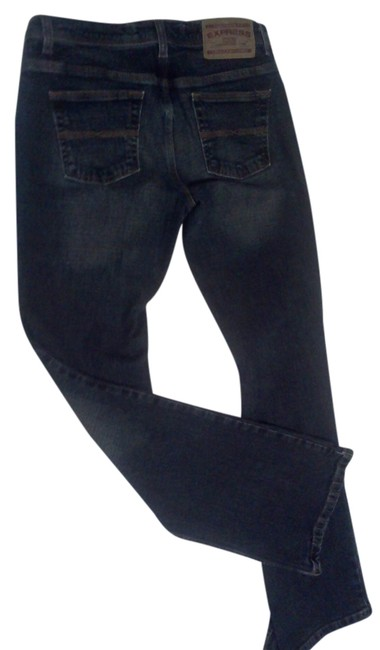 Express Relaxed Fit Jeans-Dark Rinse